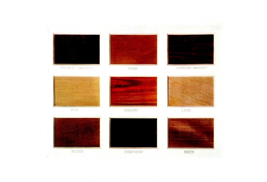 Color - Multi color - Wood types 2