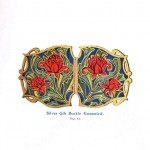 Design - Apparel - Belt buckle, floral 1