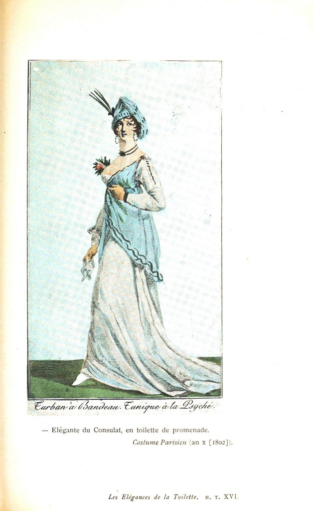Design - Apparel - Dress, Costume Parisien 1802