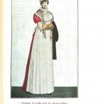 Design - Apparel - Dress, Costume Parisien 1807