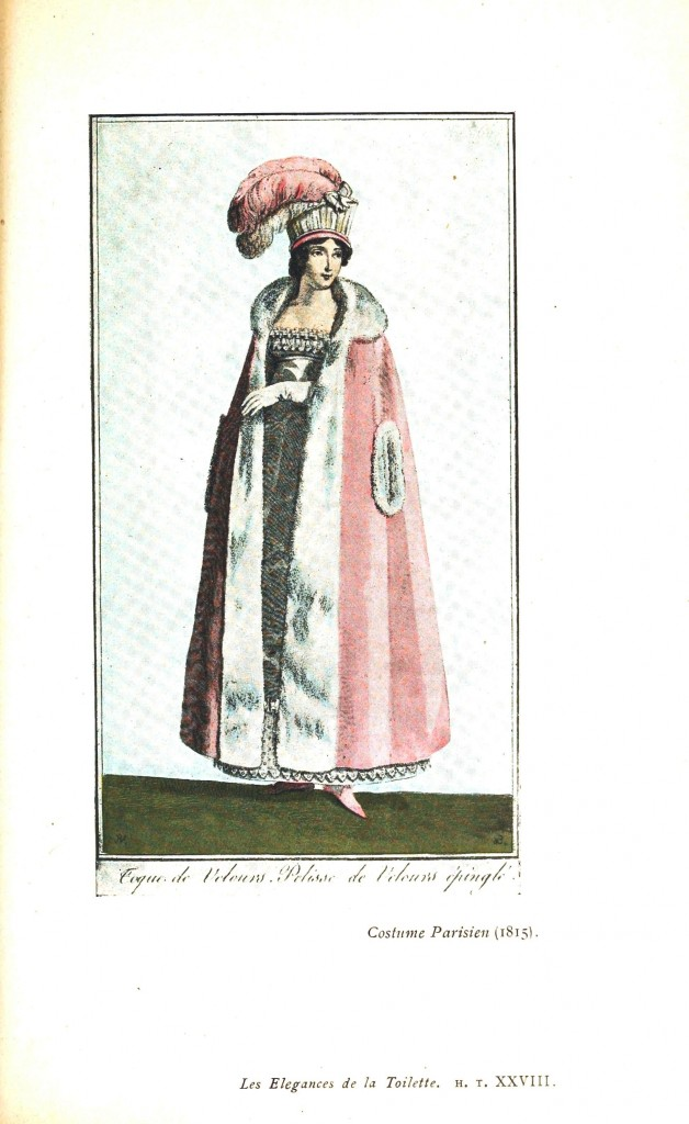Design - Apparel - Dress, Costume Parisien 1815 (2)