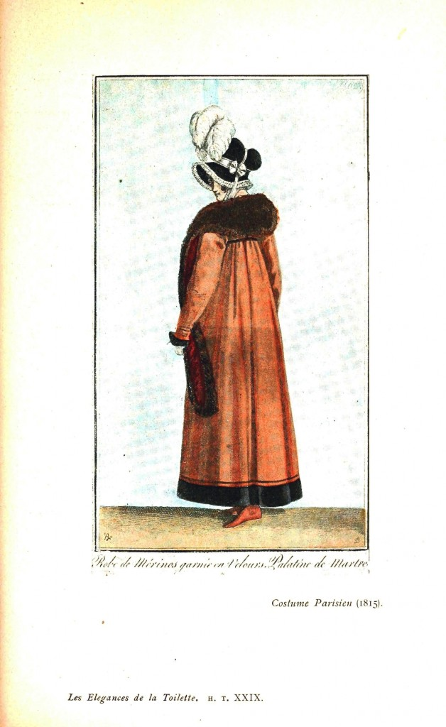 Design - Apparel - Dress, Costume Parisien 1815