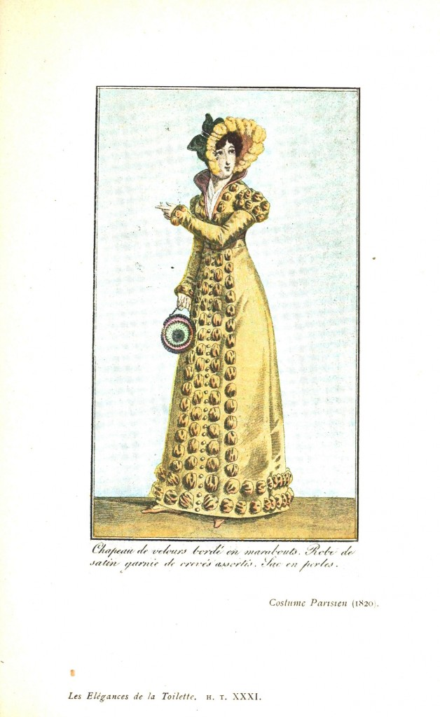 Design - Apparel - Dress, Costume Parisien 1820