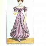 Design - Apparel - Dress, Costume Parisien 1823