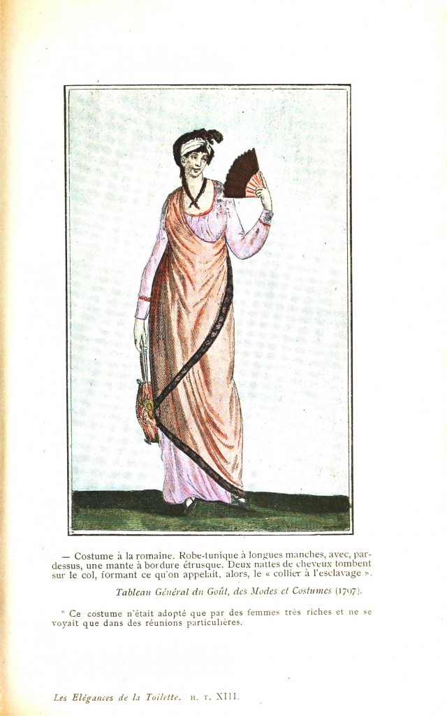 Design - Apparel - Dress, Modes et Costumes 1797