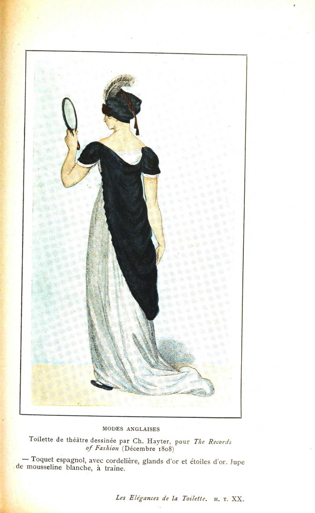 Design - Apparel - Dress, Records of Fashion 1808