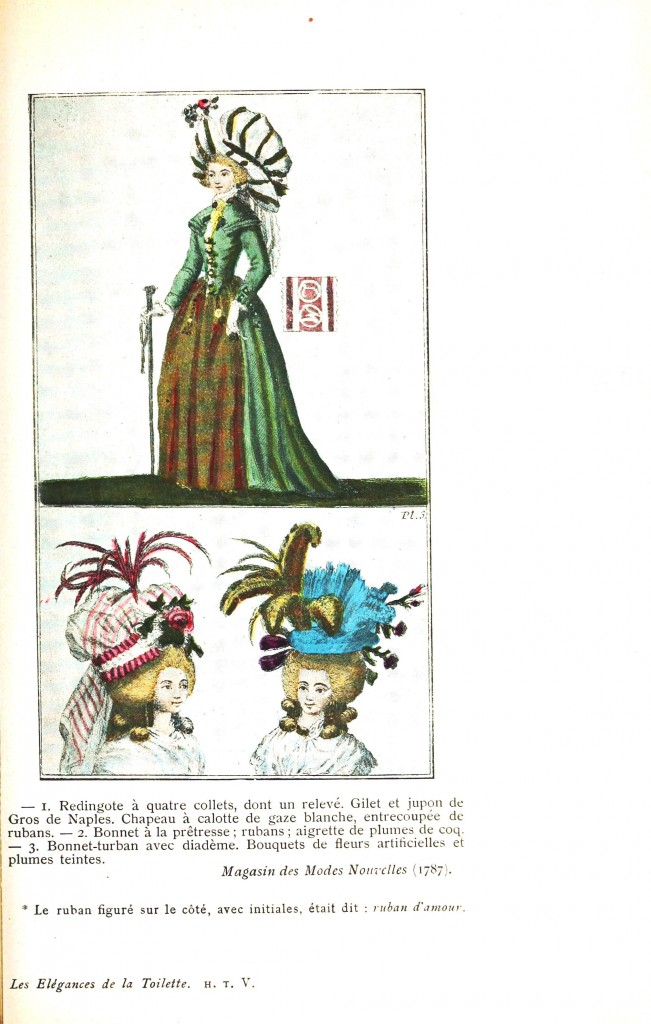 Design - Apparel - Dress and hats, Magasin des Modes Nouvelles 1787