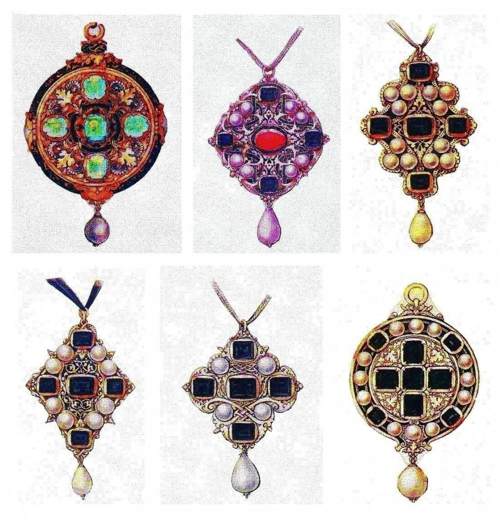 Design - Apparel - Jewelry, pendants, renaissance