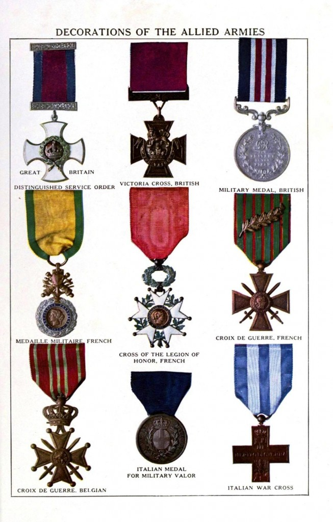 Design - Apparel - Military medals