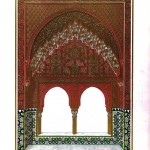 Design - Architectural - Alahambra, ornamentation 6, window