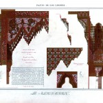 Design - Architectural - Alahambra, ornamentation 7, spandril
