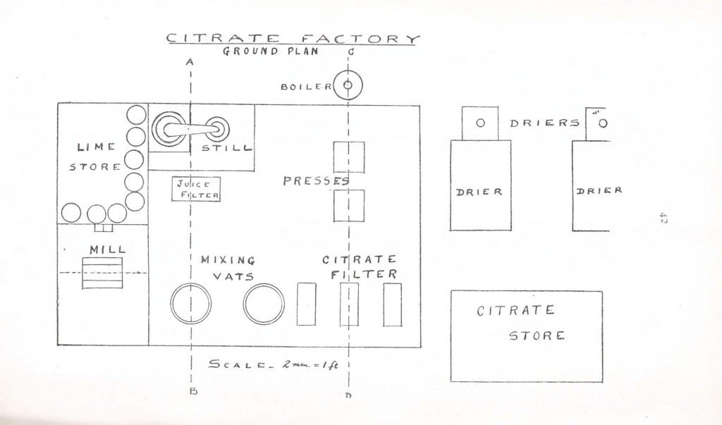 Design - Architectural - Citrate Factory