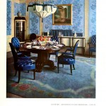 Design - Interior - Blue dining room