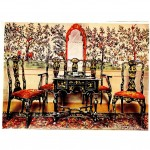 Design - Interior - Desk, Chinoiserie