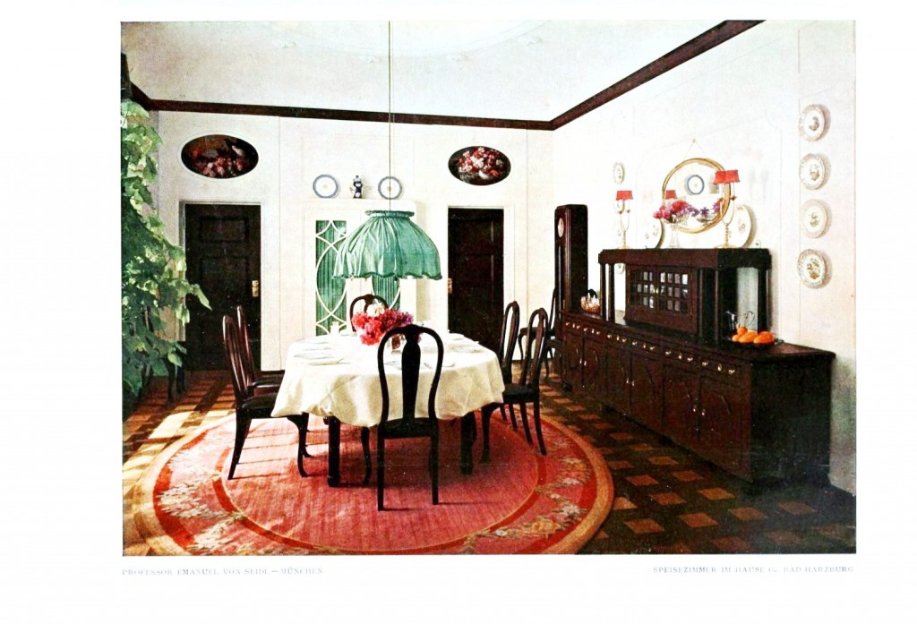 Design - Interior - Dining room, red rug