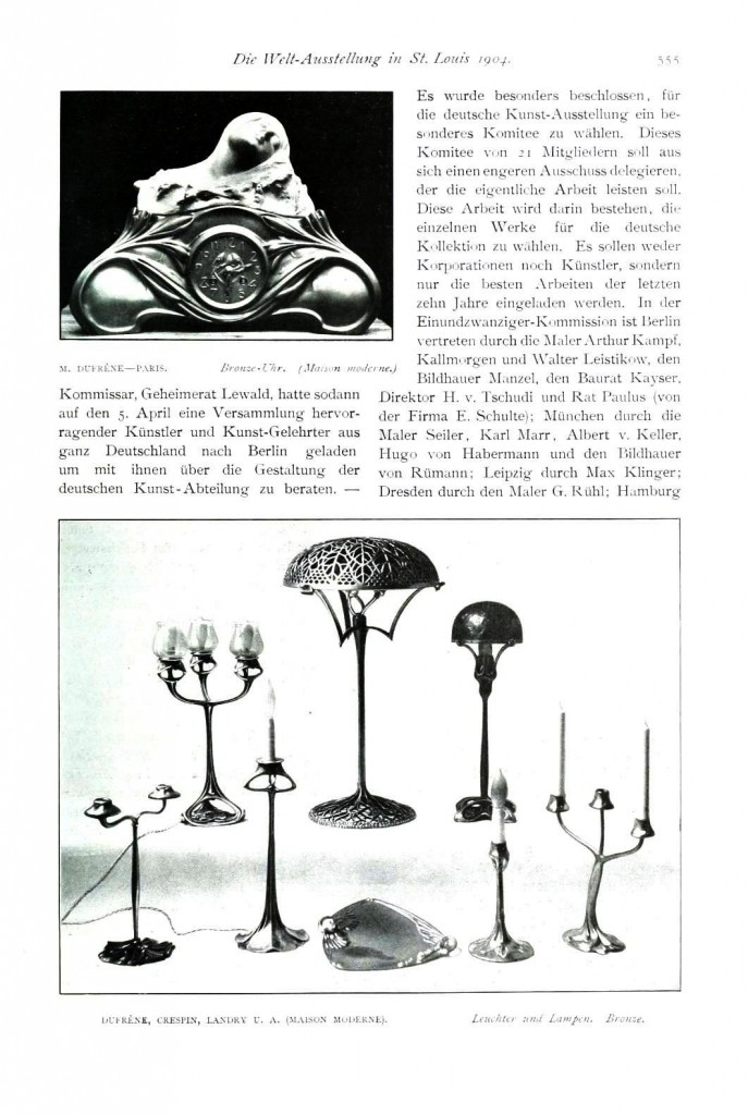Design - Interior - Electric items, art nouveau lamps 1 (4)