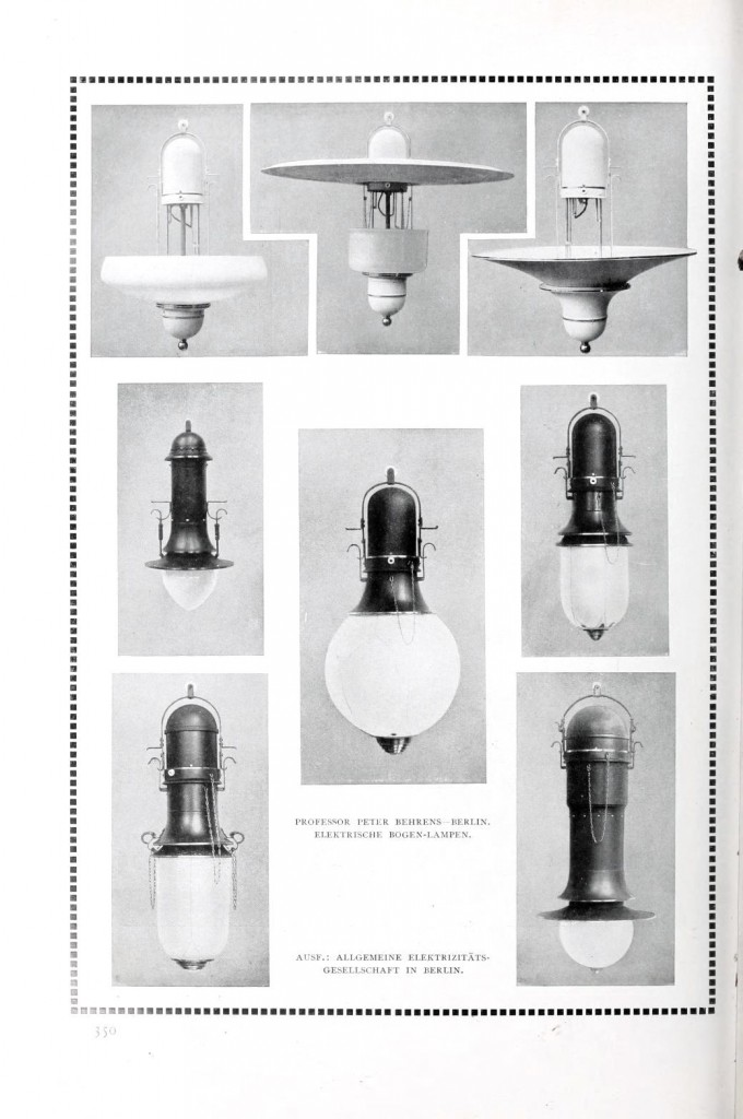 Design - Interior - Electric items, art nouveau lamps 1 (8)