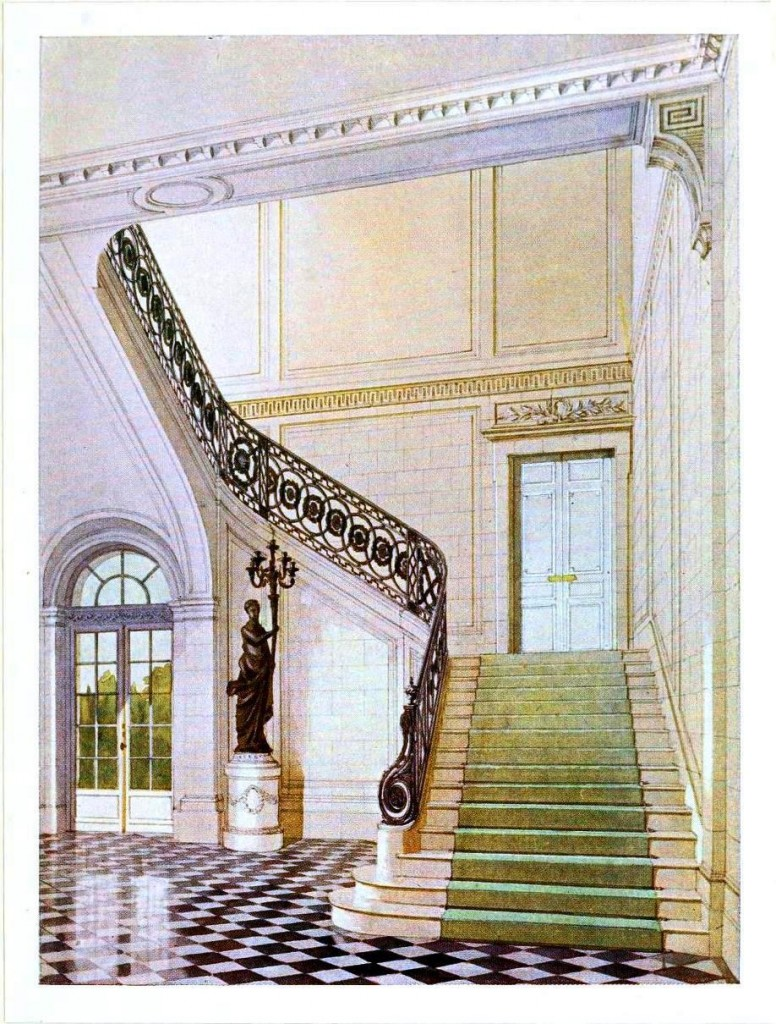 Design - Interior - Entry staircase