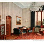 Design - Interior - Living room, striped walls
