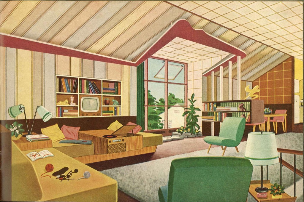 Design - Interior - Mid century - (1)