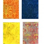 Design - Paper - Decorative design, nouveau panels 4