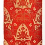 Design - Textile - Brocade for a Cardinal