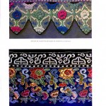 Design - Textile - Chinese embroidered border