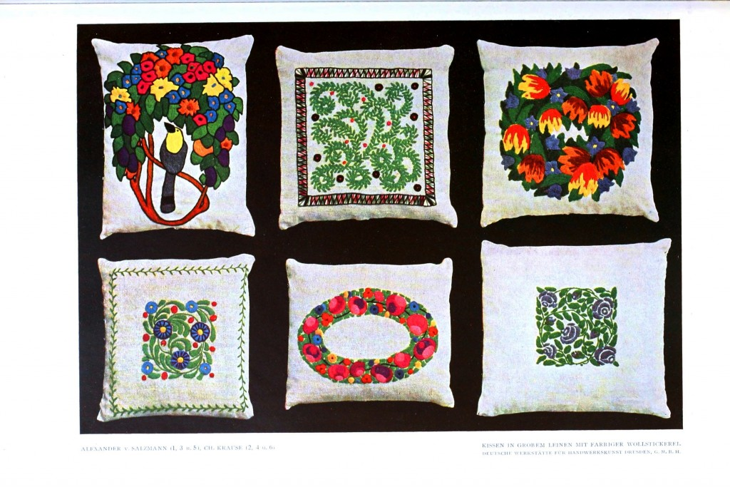 Design - Textile - Embroidery, pillow covers
