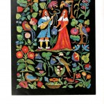 Design - Textile - Embroidery, troubadors