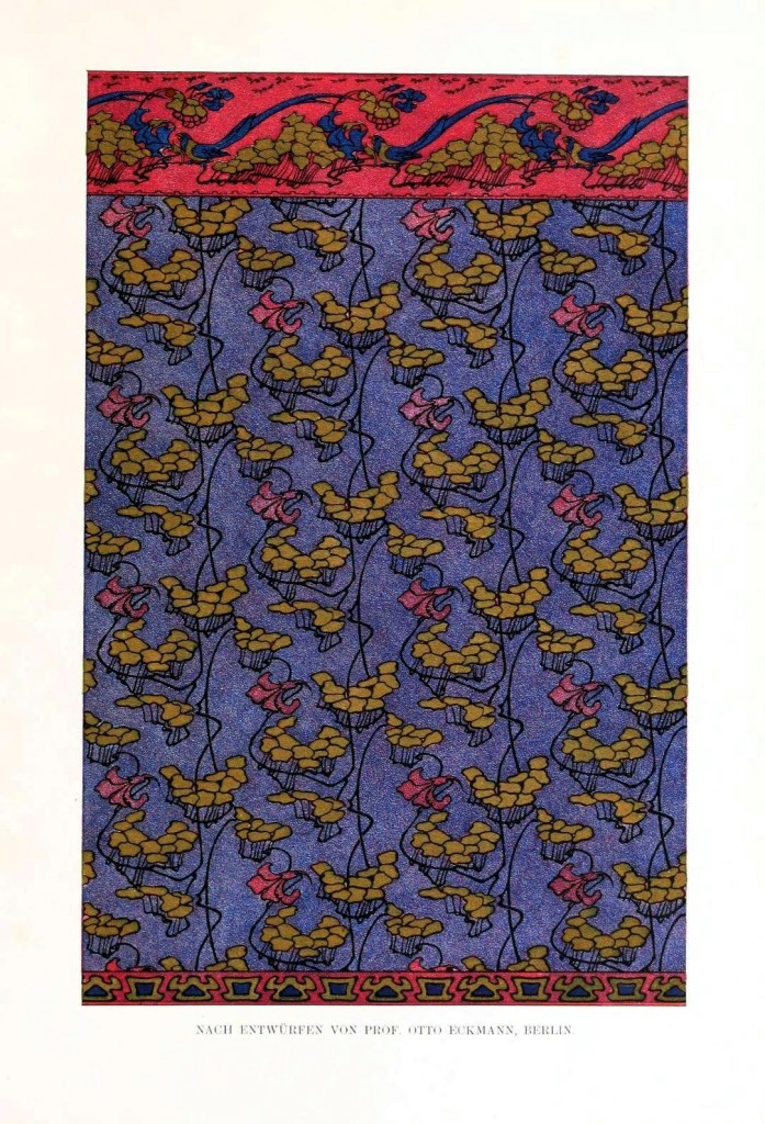 Design - Textile - Fabric, art nouveau 2