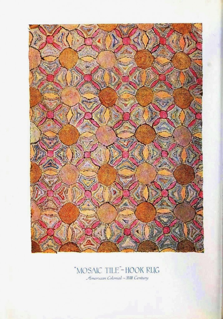 Design - Textile - Hook Rug, colonial