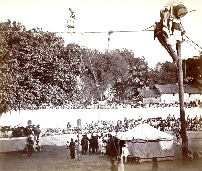 Entertainment - Photo - Tightrope walker