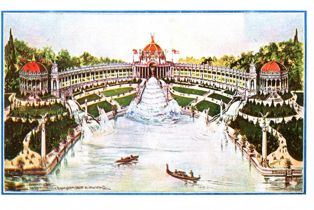 Geopolitical - Landscape - St. Louis World's Fair 1903