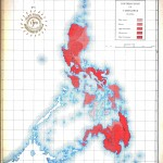 Geopolitical - Map - Asia Pacific - Philippines, Earthquake frequency