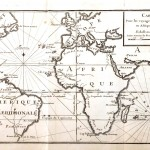 Geopolitical - Map - Carte marine Asie et Amerique