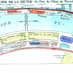 Geopolitical - Map - Europe - Paris  Exposition 1900 Bergers de la Sceine