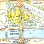 Geopolitical - Map - Europe - Paris Exposition 1900 Champs Elysee