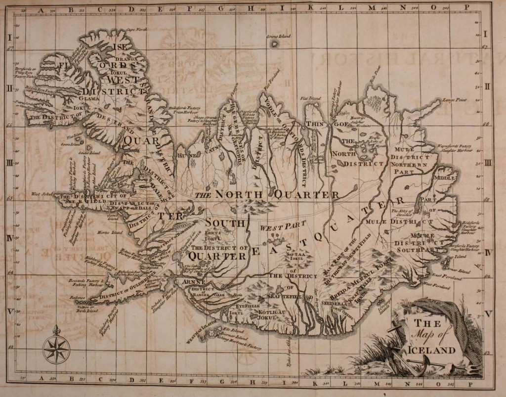 Geopolitical - Map - The Map of Iceland