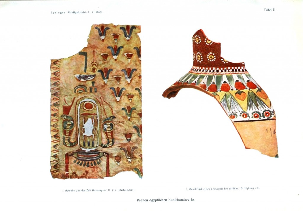 Geopolitical - Object - Middle East - Papyrus and pottery schard