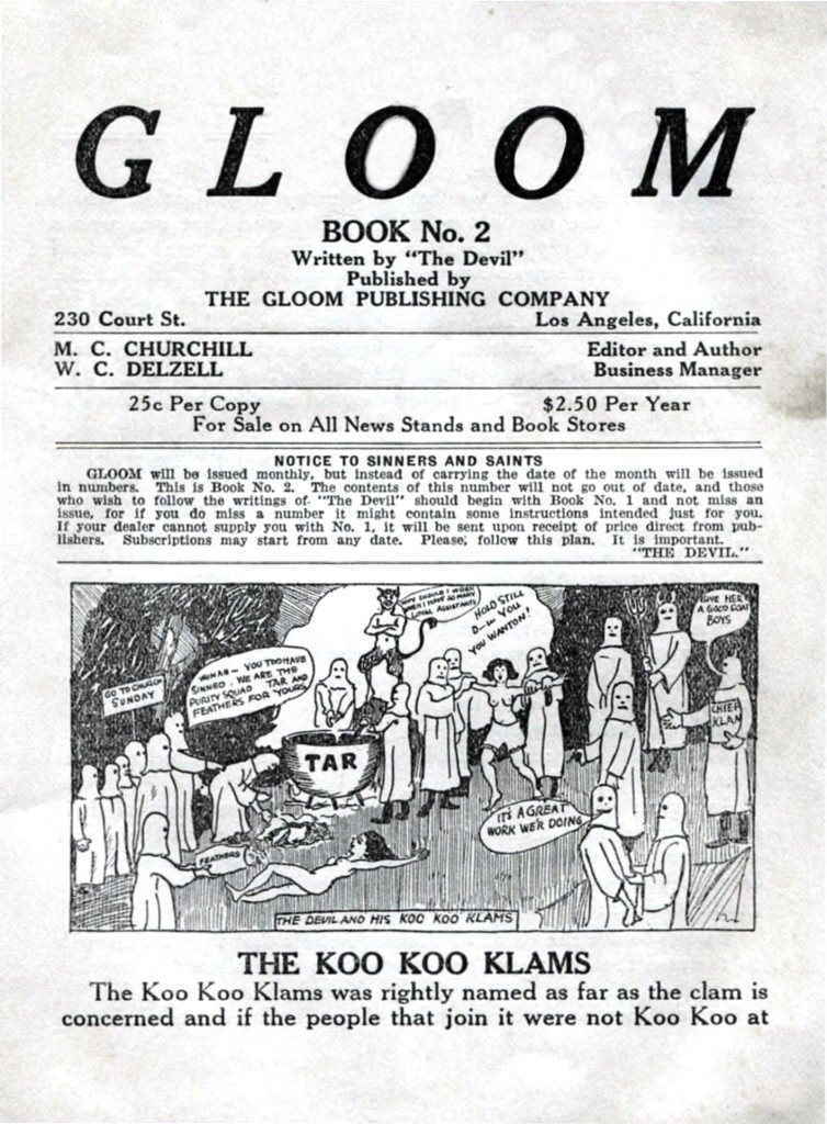 Geopolitical - Satire - Book of Gloom, 1922 -2