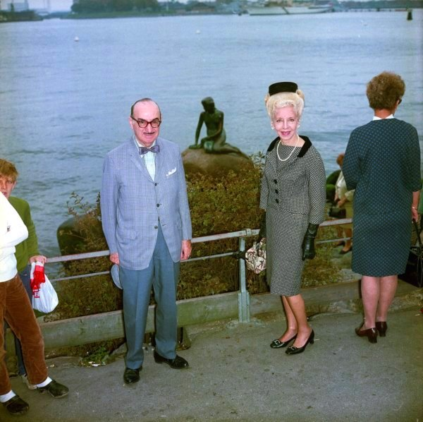 Portrait - Photo - Couple on cruise, Copenhagen 1970s