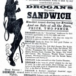 Printed Matter - Advertisement - Drogan's Mayonnaise Sandwich