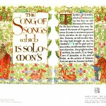 Printed Matter - Book Cover - Song of Songs, flowers deer