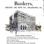 Printed matter - Advertisement - Drexel, Morgan banker