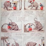 Animal - Animal acting human - Drawing series -  Elephant at the dentist [NLM]