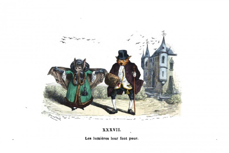 Animal - Bat - Grandville Metamorphosis - French gothic