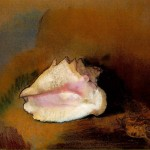 Animal - Curiosity - Art - Seashell - Odilon Redon, Le coquillage (The Seashell) (1912)