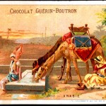 Art - Advertisement - Chocolat Guerin-Boutron - Arab oasis