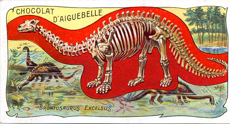 Art - Advertisement - Chocolat d'Aiguebelle - Fossil 2