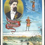 Art - Advertisement - Circus - Arsens Blondin - Hero de la Seine